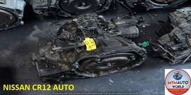 IMPORTED USED NISSAN CR12 AUTOMATIC GEARBOX FOR SALE AT MYM AUTOWORLD