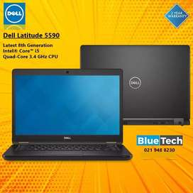 Dell Latitude 5590 Latest 8th Generation Core i5 Quad-Core 3.4 GHz