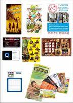 Услуги дизайнера по рекламе и печать полиграфии