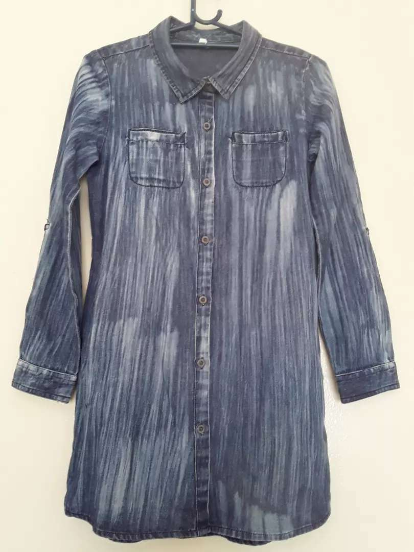 Denim Shirt (Once Used) 0
