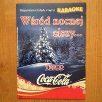 Kolędy Coca-Cola DVD KARAOKE Wśród nocnej ciszy...