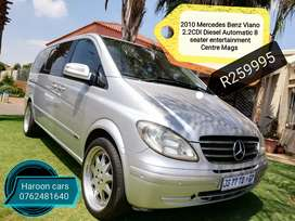 Call Haroon Mercedes Benz Viano 2.2CDI Diesel Automatic 8 seater