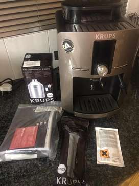 Krupps Coffee machine bean to cup