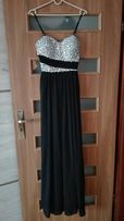 Sukienka wieczorowa na studniówke sylwestra suknia