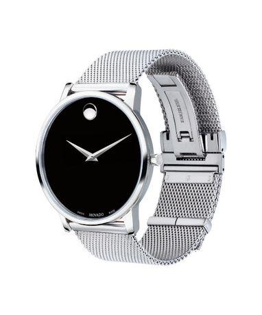 Часы Movado Mesh Museum Black Dial Stainless Steel модель 0607219 Харьков - изображение 3