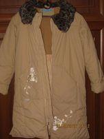 Зимнее пальто для девочки фирмы Пара SOLO
