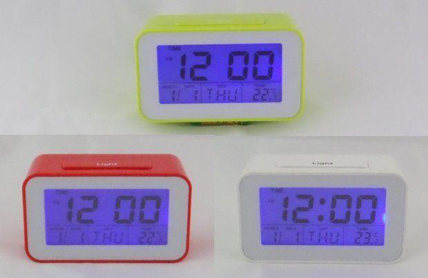 Cyfrowy zegarek, termometr, budzik, timer - 3 kolory - NOWE Augustów - image 1