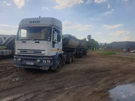 Iveco 440 and afrit side tipper 36ton spring suspension still good