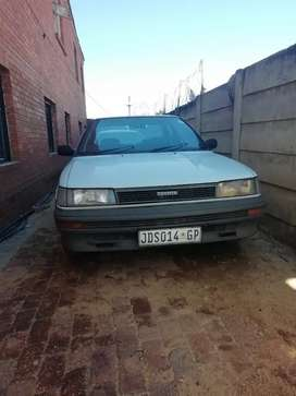 Toyota corolla 1990 for sale