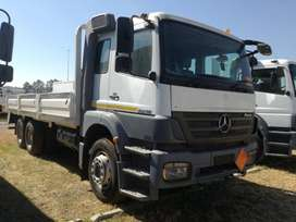 MERCEDES BENZ AXOR 2828 DOUBLE DIFF WITH HIGH DROPSIDES