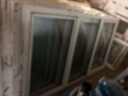 Okno PCV 142X245 cm trzyczęściowe