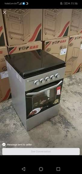 4 plate gas oven