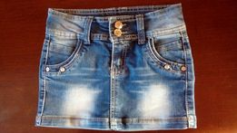 Spudnica jeans 128