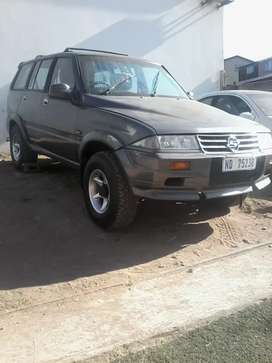 Hi I have a ssang yong mosso for sale