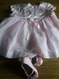 Нарядное платье и туфельки.