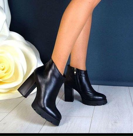 Крутые кожаные ботинки Днепр - изображение 1