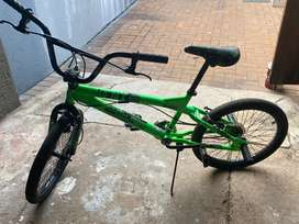 BMX bike barely used for sale