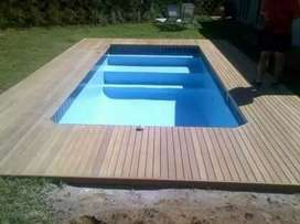 Swimming pools and re-marblite, renovation