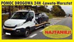 Pomoc Drogowa 24/7 WARSZTAT & Holowanie z OC Sprawcy &Skup Aut& Laweta