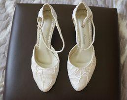 nowe białe buty ślubne rozmiar 36/37