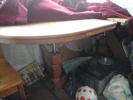 Stolik z niemiec debowy rozkladany ladny jakosc