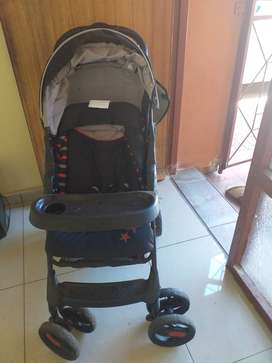 Baby straller with a car seat for kids up to 2yrs