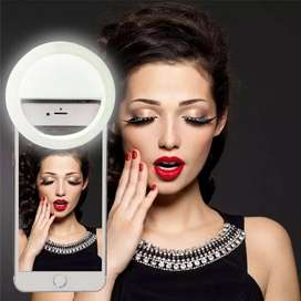 Rechargeable and Proffessional Finish Mobile Selfie Ring Light