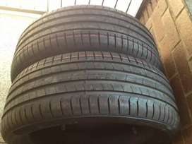 Two New tyres Pierlli size 245/45/20 Run Flat now available