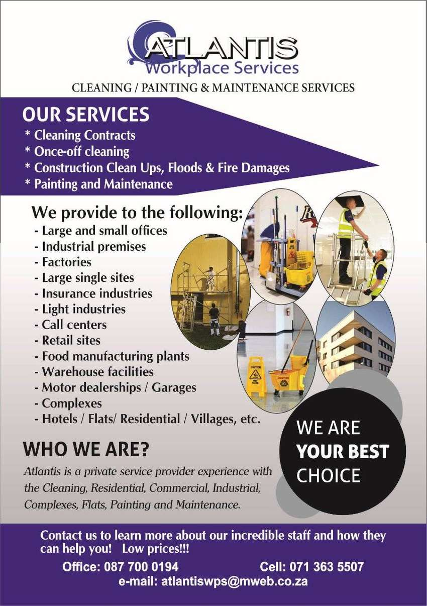 Cleaning, Renovations, Security Gates, Painting, Maintenance Services 0