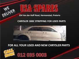 CHRYSLER 300C STRIPPING/ ALL CHRYSLER USED PARTS/ SPARES NEW AND USED