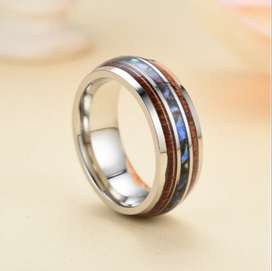 Men's Stainless Steel Ring - Size 13
