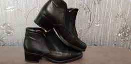 Продам кожанные туфли, полуботинки 36,5