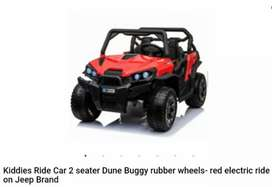 Kiddies Ride Car 2 seater Electric Ride on Jeep Brand