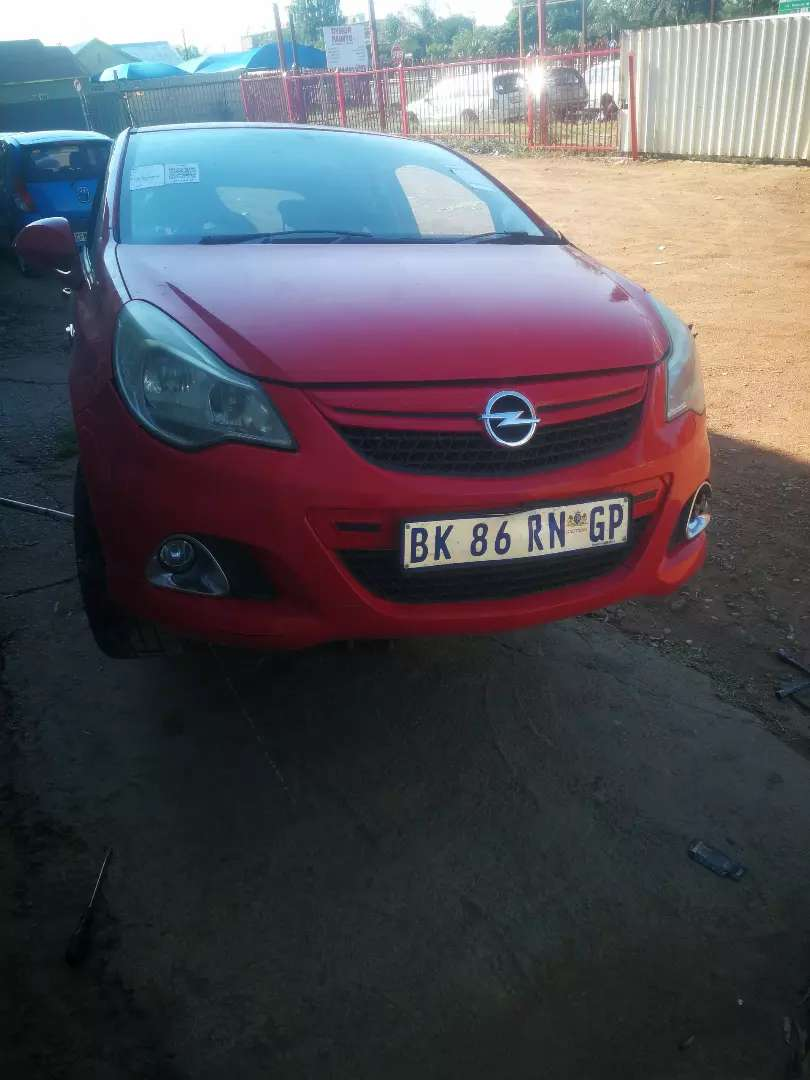 2011 Opel Corsa OPC stripping for spares 0