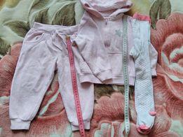 Одяг колготи лосіни для дівчинки все по 10 грн.