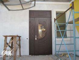 Дверь с мдф накладкой