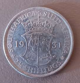 1931 2 SHILLINGS - VERY HIGH VALUE