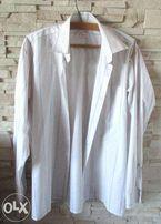 Koszula firmy ELPIO w rozm. M(39/40)biała w pasy