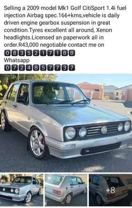 Mk1 Golf CitiSport 1.4i feul injection