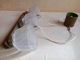 Продам хрустальную люстру на 3 лампочки