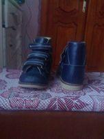Ортопедичні ботинки весна-осінь та зима 16см