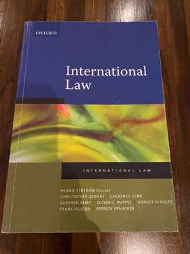 Perfect condition 1st Ed International Law Texbook - Strydom