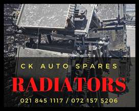 Radiators for sale for most vehicles make and models.