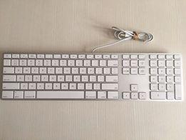 Проводная алюминиевая клавиатура Apple Wired Keyboard A1243