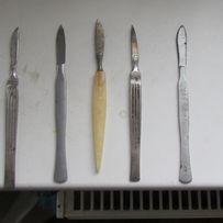 Ножницы и зажимы.скальпели