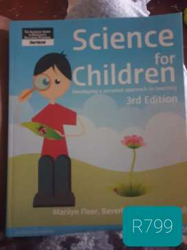 Science for children 3rd edition