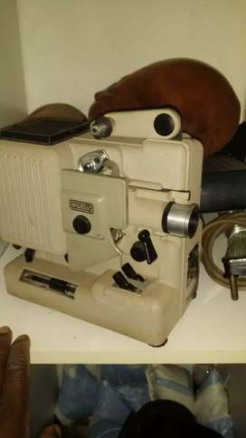 A old antique film projector still in working condition