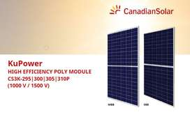 Canadian Solar 300W Poly KuPower Solar Panels