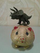 "СВИНКА (фигурка) + ""динозаврик"" (подарок)"