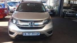 2016 Honda BRV 1.6 Engine Capacity with Manuel Transmission,